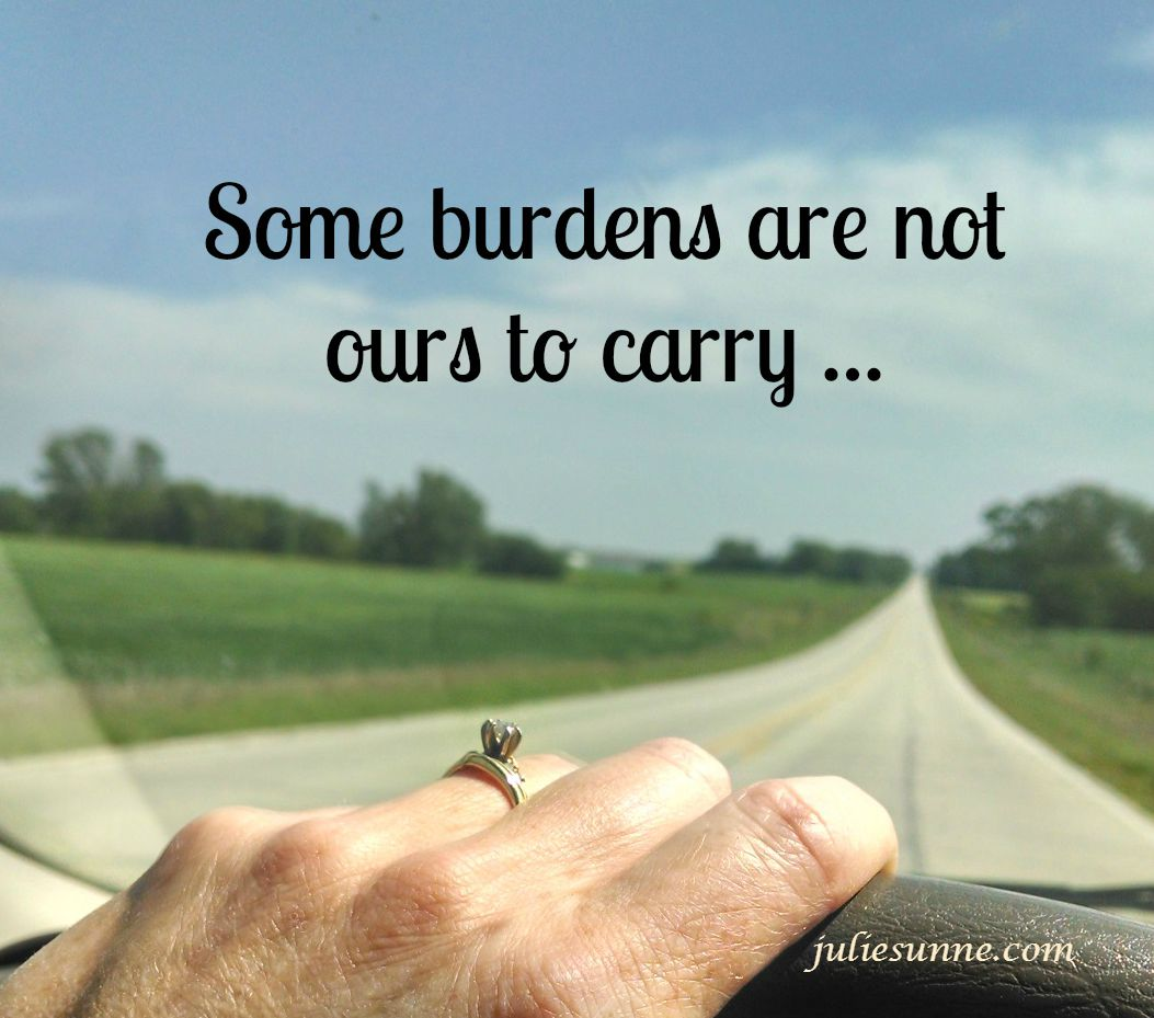 some-burdens-are-not-ours